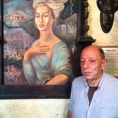 Jerry Gandolfo has been the Administrator of the Historic Voodoo Museum since 2001. Photo by Neil Giardino